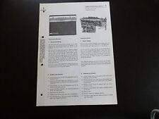 Original Service Manual Siemens Koffersuper club RK 14