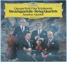 Verdi/Tschaikowsky, Streichquartette, Amadeus-Quartett [DGG 2531 283]