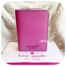 NWT KATE SPADE CAMERON MONOTONE PASSPORT HOLDER CASE WALLET IN BRIGHT PEONY