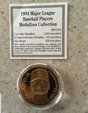 Ken Griffey Jr, 1994 Enviromint Fine Bronze Medallion, 251 Of 500