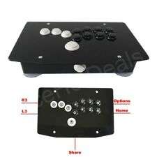 RAC-J500B-P4 All Buttons Arcade Fight Stick Game Controller Hitbox Joystick PS4