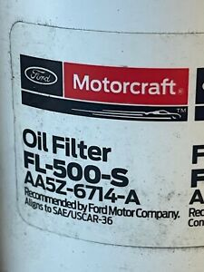 (10ct) Ford Motorcraft FL-500-S Oil Filters AA5Z-6714-A engine auto