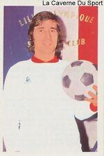 N°058 PHILIPPE LEVAVASSEUR LILLE.OSC LOSC STICKER AGEDUCATIF FOOTBALL MATCH 1973