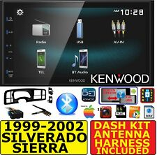 99-02 SILVERADO SIERRA JVC- KENWOOD BLUETOOTH USB SCREEN MIRRORCAST STEREO RADIO