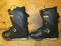 Ride Sage Womens Snowboard Boots New in Black Orange Box