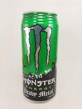 Vintage 2007 Unopened Monster Energy Heavy Metal 32oz