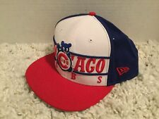 Chicago Cubs New Era Fits MLB 9FIFTY Snapback Hat Cap Cooperstown Collection