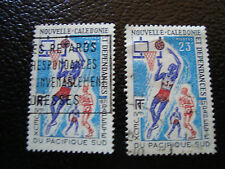 NOUVELLE CALEDONIE timbre yt n° 376 x2 obl (A4) stamp new caledonia
