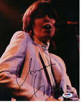 Chrissie Hynde Pretenders Autograph Signed 8x10 Photo Pic PSA DNA COA Certified
