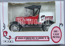 ERTL 1918 FORD RUNABOUT  Hardware Hank Delivery Truck  Die Cast Bank    #S2
