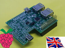 RS-Pi Interno 4 USB Hub & RTC Board per Raspberry Pi