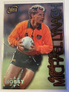 MICHAEL LYNAGH TRIBUTE CARD FUTERA 1996 RUGBY UNION ML4 0237/850