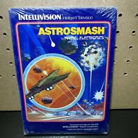 Intellivision Video Game - Astrosmash 1981 Mattel, New Sealed. Fast SHIPPING!!