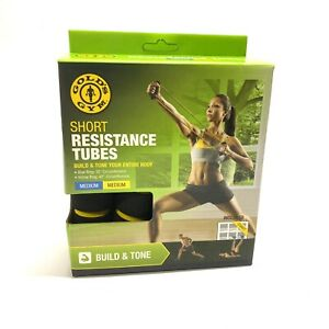 Golds Gym Short Resistance Tube - Medium Resistance Build Strength & Tone NEW!!!
