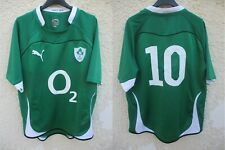 Maillot rugby IRLANDE IRELAND IRFU n°10 Jonathan SEXTON Puma 2011 shirt L