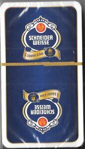 *** Brauerei Schafkopf Spielkarten Schneider Weisse ***