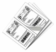 Label 2000 Adhesive Paypal Ebay Shipping Labels UPS USPS 2 Per Sheet 8.5 X 5.5