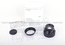 MS-Optical-R&D 35mm f/1.4 APOQUARIA-G F. MC Leica M mount in Black