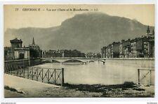 CPA -Carte postale-France - Grenoble - Vue sur l'Isère et le Moucherotte -1934