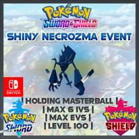 Shiny Necrozma Event | Pokemon Sword & Shield | 6IVS | Level 100 |