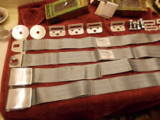 NOS CS-5000 Seat Belts w/6 Panel Webbing 58 59 Impala Cadillac Pontiac Buick NEW