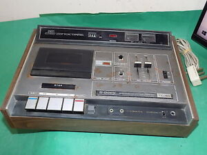 SONY STEREO CASSETTE Recorder Vintage TC-160 Cassette-Corder JAPAN FAULTY