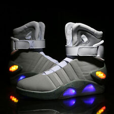 BACK TO THE FUTURE Warrior Basketball LED Light Trainers Shoes Charging Shoes