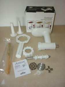 Antree Stand Mixer Mincer Grinder + Sausage Stuffer Attachment For Kitchenaid