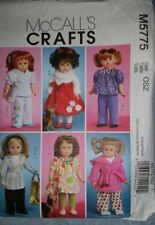McCall 's Doll/Toy Sewing Patterns