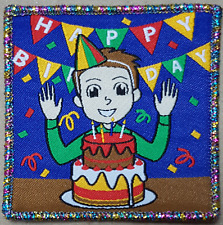10 Happy Birthday Anniversary Celebration Boy Scout Fun badge patches badges