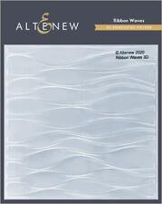 Alteribbon Waves 3d Embossing Folder