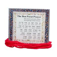 10 ORIGINAL Kabbalah Red String Bracelet against Evil Eye Lucky Charm Protection