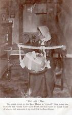Lace making Lace maker Cut off day unused old pc  Rush & Warwick Bedford