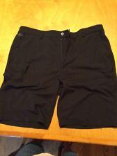 mens golf shorts black greg norman y size 36 H
