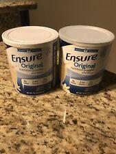GENUINE ENSURE Original Nutrition Vanilla Powder Supplement 14 Oz (LOT OF 2)