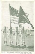 Camp Endicott RI The Battalion Color Gurad in Review
