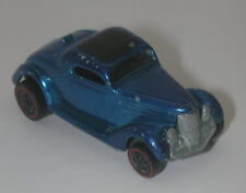 Redline Hotwheels Blue 1969 Ford Coupe oc17467