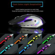 Gaming Mouse Rechargeable X7 Wireless Silent LED Backlit USB Optical Ergonomic