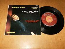 JIMMY FREY / JAMES AWARD - C'EST MA FÊTE - INSTRUMENTAL/ LISTEN - FRENCH POPCORN