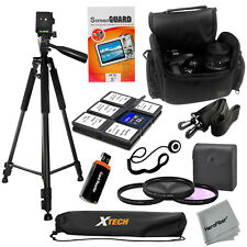 "Pro 60"" tripod with Deluxe Slr Case and 58mm 3pc Filter kit for Canon T3i,70D,7D"