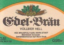 1 bieretikett Einsiedel, RDA