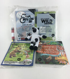 Chick-fil-A Kids Meal Toys Activities & Games Lot Of 5