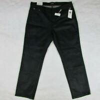 Lauren Ralph Lauren LRL Women's Pine Green Regal Stretch Jeans Sz 14W $125