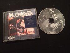 N.O.R.E GOD'S FAVORITE ÉTAT BON CD