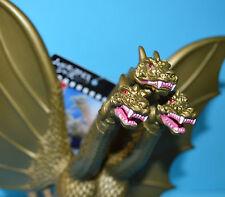 "Bandai TOHO Kaiju GOJIRA PVC Vinyl Figure: 6"" King Ghidorah 2015 *RARE* Godzilla"