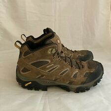 New listing Merrell Men's Moab 2 Mid  Size 8.5 Waterproof Hiking Boots Earth Suede J06051