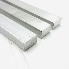 "New listing .75"" x 1.25"" Aluminum 6061 Flat Bar 21.625"" Long new mill stock Qty 3 sku A348"