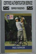1990 PGA Tour Pro Set Paul Azinger #21 CAS Certified Sealed Auto