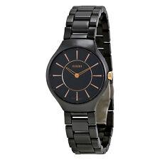 Rado True Thinline Black Ceramic Ladies Watch R27742152