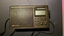 SANGEAN CC Radio Plus DX AM FM TV Weather Band Radio Receiver +Alert Black Alarm